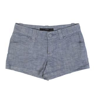 Joe's Blue Chambray Shorts