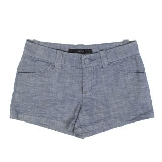 Joe's Blue Chambray Shorts