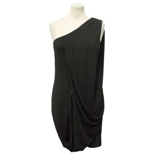 Diane Von Furstenberg Shoulder Drape Dress