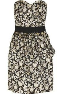 Luella  Floral Jacquard Dress