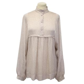 Stella McCartney Silk Pattern Blouse
