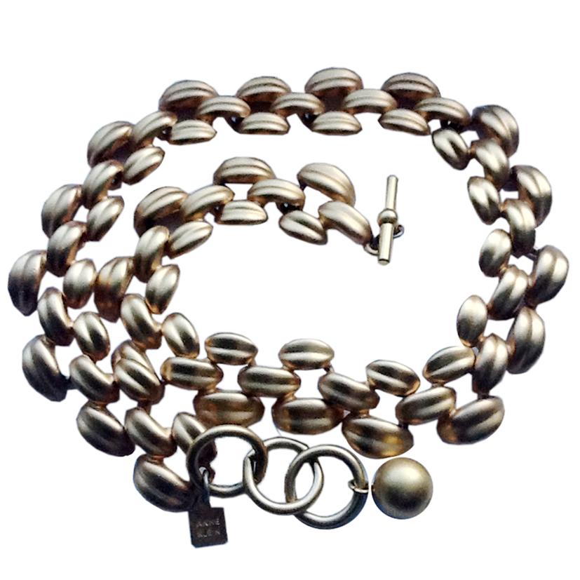 Anne Klein Vintage Gold Plated Necklace