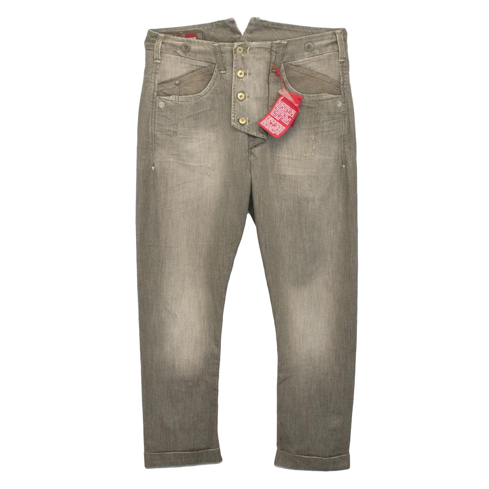 Marithe + Francois Grey Jeans