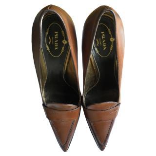 Prada Court Heels