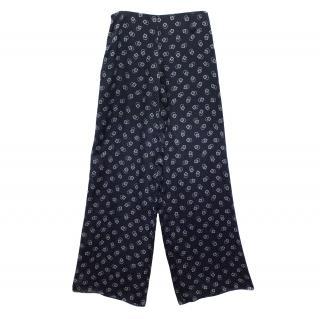 Ralph Lauren Silk Palazzo Pants