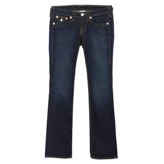True Religion Blue Straight Leg Jeans
