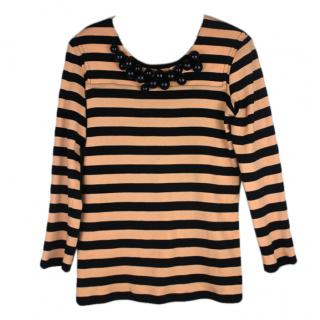 Sonia Rykiel Stripe Bauble Top