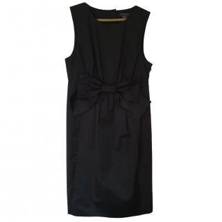 Orla Kiely Brown Satin Shift Dress