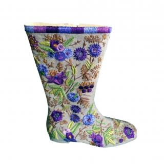 Gina embroidered boots