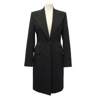 Dolce & Gabbana Long Black Coat