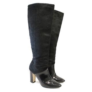 Hobbs Ponyskin Knee High Boots