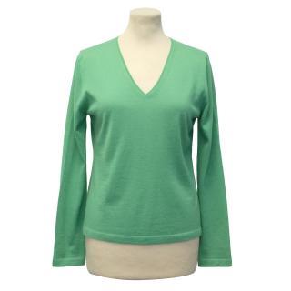 Malo Green Cashmere Jumper