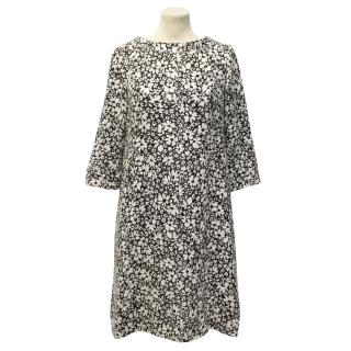 Goat Sabrina Flora-Jacquard Woven Dress