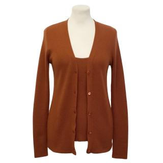 Loro Piana Cashmere Top and Cardigan