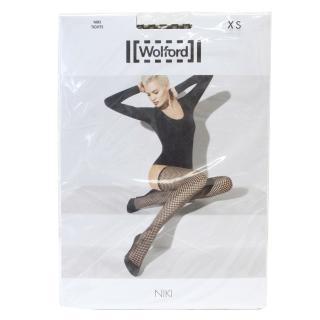Wolford Niki Sahara/Black Pull Up Tights