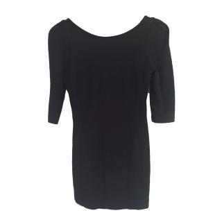 Tibi New York Black Short Sweetheart Dress