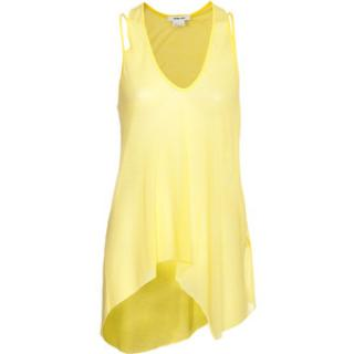Helmut Lang Yellow Vest Top