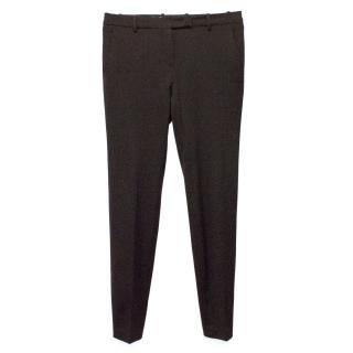 Loro Piana Brown Wool Trousers