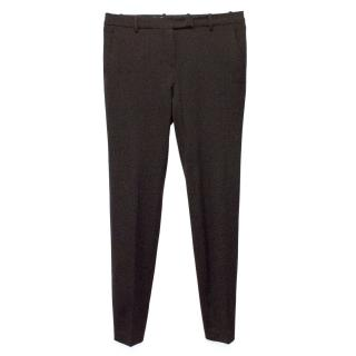 Loro Piana Brown Wool Trousers