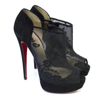 Christian Louboutin Bridget's Back Lace Shoes