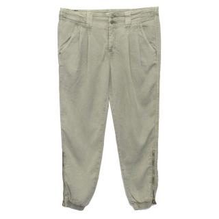 7 For All Mankind Khaki Trousers