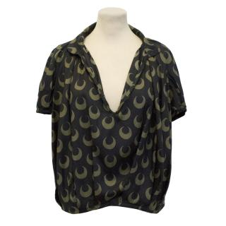 Dries Van Noten Silk Top