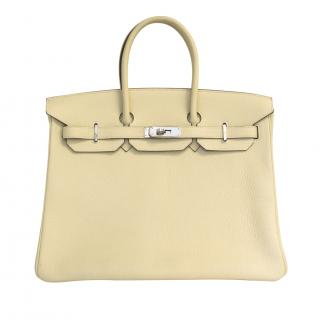 Hermes 35cm Parchemin Birkin with Receipt