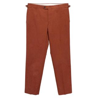 Boden Red Rust Trouser