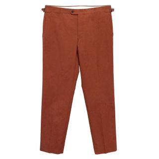 Boden Red Rust Trouser