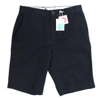 Boden Navy Chino Shorts