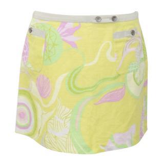 D&G Floral Linen Skirt