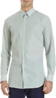Paul Smith Striped green shirt