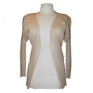 Issey Miyake Pleats Please top, size 3