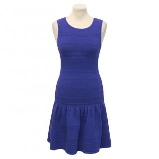 Juicy Couture Blue Knit Dress