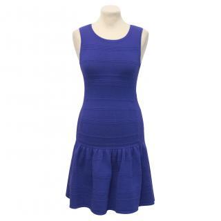 Juicy Couture Blue Knit Dress