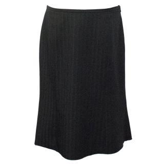 Armani Collezioni Striped Skirt