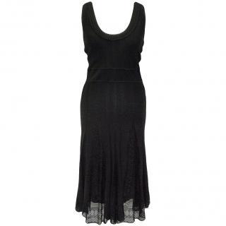 Chanel Black Knit Dress