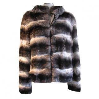 Chinchilla Hooded Jacket