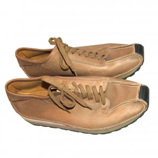 BALLY very soft leather shoes, size 9.5