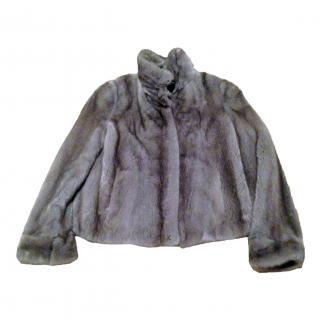Saga Grey Mink Jacket