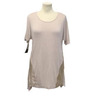 Preen Line T-shirt with Satin Trim
