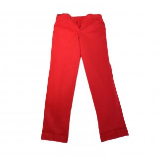 Carven BNWT Red Cotton Chinos
