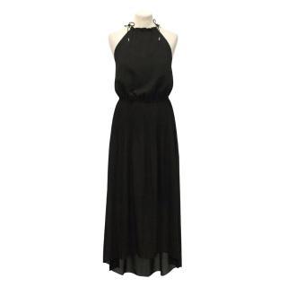 Pinko Maxi Black Dress
