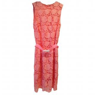Christopher Kane Pink Lace dress