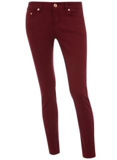 MiH Burgundy jeans