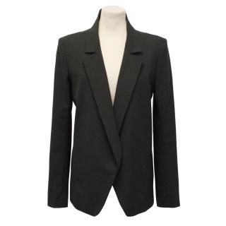 Theyskens' Theory Black Blazer Jacket