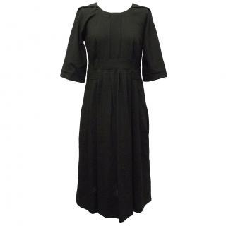 Chloe Black Wool Dress