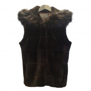 Dennis Basso Fur hooded vest