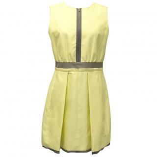 Victoria by Victoria Beckham Yellow Dress