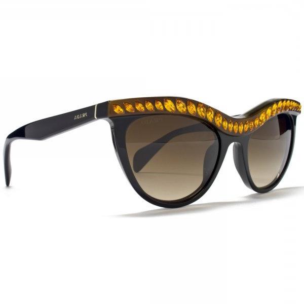9e697d9ef6f Prada Cateye Embellished Sunglasses